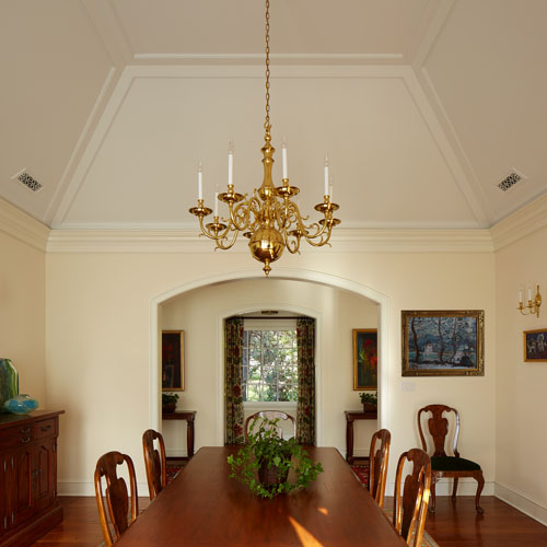Interior construction - dining room by DPD Builders