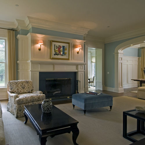 Chappaqua, New York interior home construction