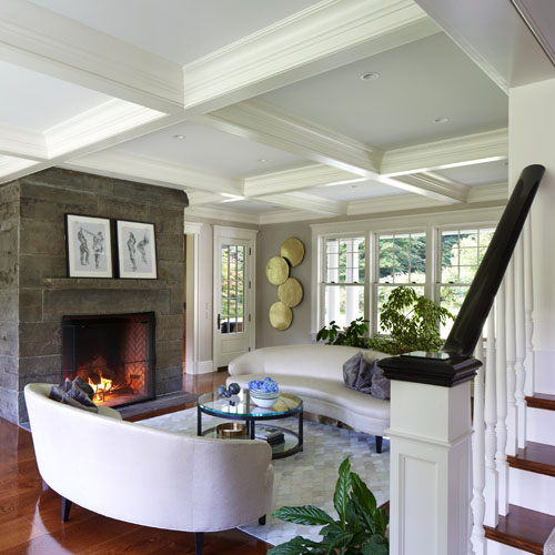 Fairfield County, Connecticut home construction interior view